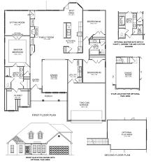 ranch split bedroom floor plans home decoration