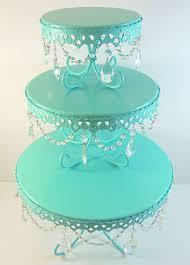 teal aqua wedding cake stand for sale add u003c3 u003c3 diy www