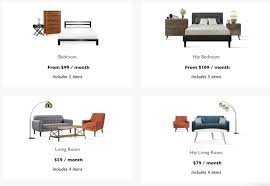 Bedroom Furniture Items Feather Raises 3 5m To Rent Furniture To Millennials Techcrunch