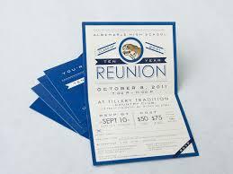 high school reunion invitations calm blue class reunion and gathering invitation idea plus white