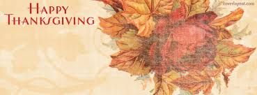 Thanksgiving Facebook Covers Happy Thanksgiving Vintage Flower Facebook Cover Happy