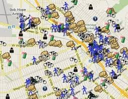 map of burbank ca burbank ca what s up doc spotcrime the s crime map