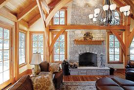 a frame home interiors a house with no nails building a timber frame home