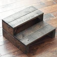 super simple kid u0027s diy 2x4 wooden step stool beckham belle