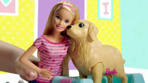 barbie born pups doll commercial