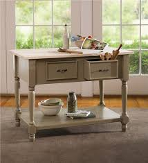 kitchen island with maple top plow u0026 hearth