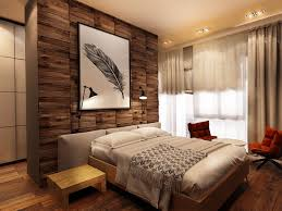 bedroom cream and stone wall rustic bedroom interiors with