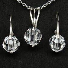 swarovski crystal necklace set images Jewelry swarovski crystals the best photo jewelry jpg