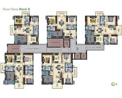 golf view typical floor plans block a