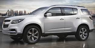 chevrolet trailblazer 2015 chevrolet trailblazer show suv breaks cover in dubai image 76223