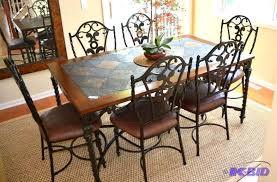 Wrought Iron Kitchen Table Wrought Iron Kitchen Table Sets Trendyexaminer