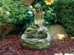 Waterfall Fountains For Backyard by Beckett Fountains For Outdoor Garden And Patio Setting As Well As