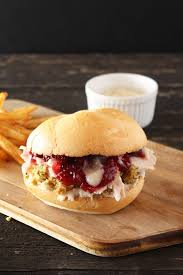 the ultimate thanksgiving leftovers sandwich cake n knife