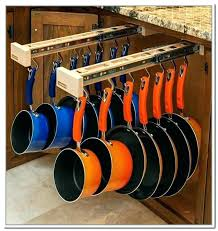 cabinet organizer for pots and pans pots and pans cabinet pot and pan cabinet organizer home depot