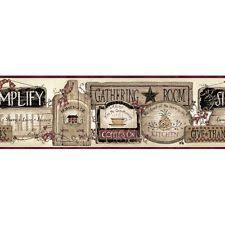 kitchen wallpaper border ebay