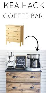 Tarva Bed Hack by Ikea Tarva Hack And Coffee Bar Essentials The Inspired Hive