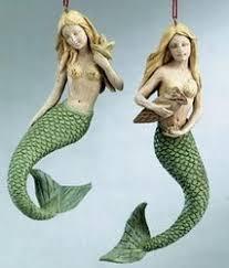76 best mermaid ornaments images on mermaid ornament