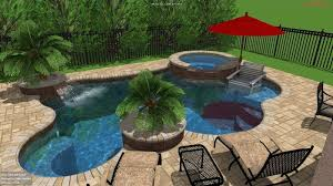 free form pool designs 3d swimming pool design sanford clermont orlando pool studio