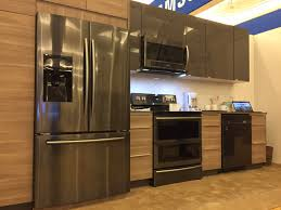 kitchen with stainless steel appliances colorful kitchens samsung stainless steel kitchen appliances lg
