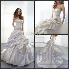 discount noble a line wedding dresses sweetheart ruching bodice
