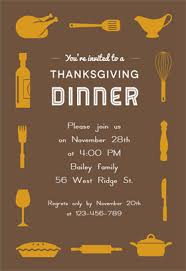 a thanksgiving dinner free printable thanksgiving invitation