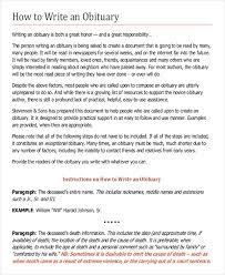 9 obituary examples download in word pdf psd free u0026 premium