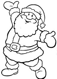 coloring pages santa claus funycoloring