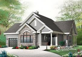 Bungalow Houses House Plan W3235 V2 Detail From Drummondhouseplans Com