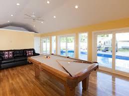 new heated inground pool u0026 spa pool house gameroom pool table