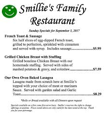 garden family restaurant smillie u0027s family restaurant home mount pleasant pennsylvania