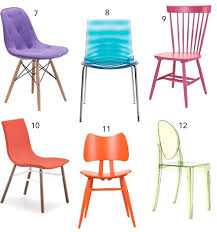 orange dining chair archives stylecarrot