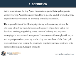 agent contract template business broker agency agreement template