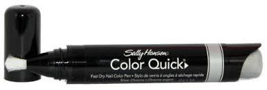 buy sally hansen color quick chrome nail colour pen gold chrome in