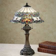 Colored Glass Table Lamps Stained Glass Table Lamps Touch Of Class