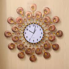 large decorative wall clocks innovative home decoration clock