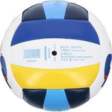 Keranjang Bola Volly bola voli pantai outdoor mini totem savanna putih biru kuning