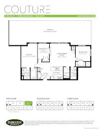 couture condo floor plans parkwest condominiums pre construction condo for sale