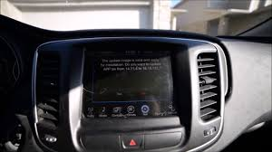 how to update map navagation for chrysler dodge jeep uconnect