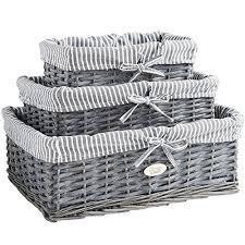 bathroom basket storage amazon co uk