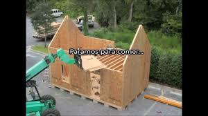 sips cabin sistema de construccion con paneles sip youtube