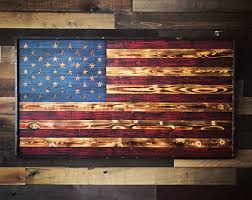 wooden flag wall wooden flag etsy
