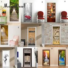 online buy wholesale realistic wall murals from china realistic magideal realistic 3d wall sticker vinyl removable mural poster decal art home decoration accessories stickers forest