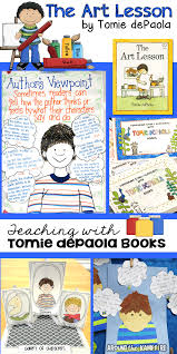 teaching with tomie depaola books part 2 the art lesson u0026 tony u0027s