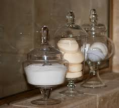 Bathroom Apothecary Jar Ideas by 7 Tips For Sprucing Up The Master Bath For Spring Sweet Shoppe Mom