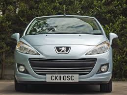 used ice blue metallic peugeot 207for sale dorset