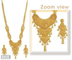 long yellow gold necklace images 57 bridal long necklace ethnic indian bridial jewelry long jpg