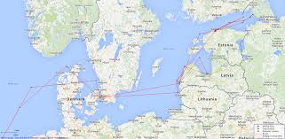 Baltic Sea Map Hms Dragon Light Cruiser British Warships Of World War 1