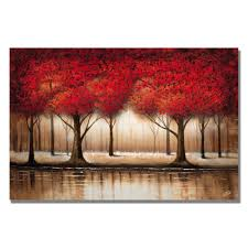 parade of trees canvas overstock shopping