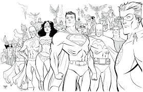 coloring pages dc superhero coloring pages images dc comics