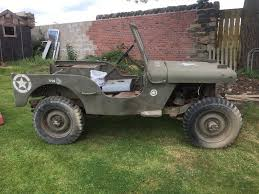 ford jeep willys gpw mb 1942 rare project ww2 ex army picclick uk